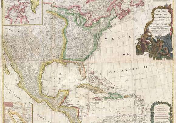 Map of North America 1794